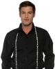 Suspenders With Skeleton Bone Motif