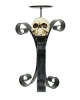 Kerzenhalter mit Totenkopf