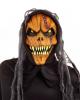Pumpkin Monster Mask With Teeth