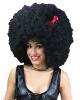 Mega Afro Perücke schwarz