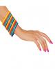 80er Jahre Multicolor Armreifen 18 St.