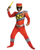 Power Ranger Red Ranger Dino Charge Muscle Costume