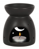 Black Fragrance Lamp With Moon & Stars