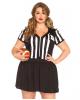Sexy Referee Plus Size Costume