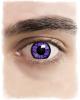 Contact Lenses Violet Reptile Motif