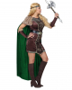 Viking Lady Costume With Cape