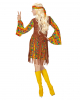 Flower Power Hippie Girl Kostüm