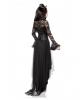Gothic Demon Lady Kostüm mit Hörner
