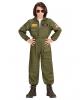 Kampfjet Pilot Kinderkostüm