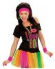 Neon Sweatband Set Pink As Costume Accessory