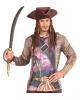 Piraten Dreispitz mit Dreadlocks