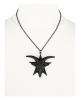 Schwarze Gothic Baphomet Halskette