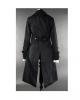 Ladies Pirate Coat Black