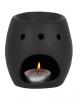 Black Skull Scented Oil Tealight Holder