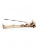 "Skeleton ""Take It Easy"" Incense Holder 27cm"