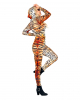 Tiger Bodysuit mit Animal Print