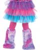 Purple Kuschelmonster Toddlers Costume