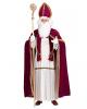 5-piece Santa Claus Costume With Bishop's Cap