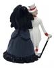 Skeleton Gothic Bride And Groom 15cm