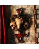 Devil Cross With Ram Skull & Snake