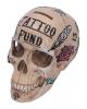 Calavera Tattoo Skull Savings Bank