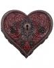 Gothic Herzschatulle mit Schlüsselloch 11cm