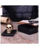 Keltische Box mit Goldenem Totenschädel