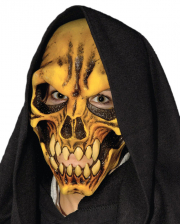 Flesh Skull Mask With Hood