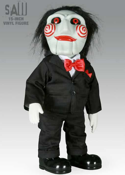 SAW Jigsaw Doll | Licensed Billy Doll | horror-shop.com