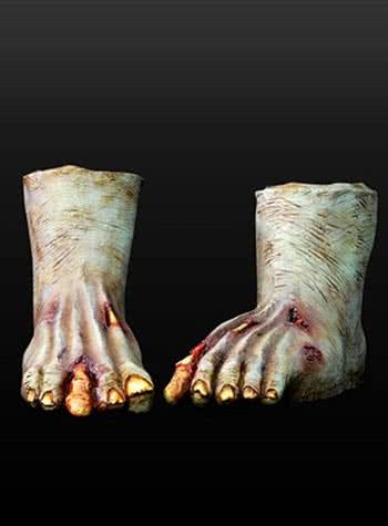 zombie f e aus latex dunkel zombie kost m selber basteln horror. Black Bedroom Furniture Sets. Home Design Ideas