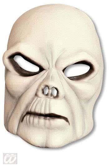 pale skull half mask half masks horror masks latex half half masks horror. Black Bedroom Furniture Sets. Home Design Ideas