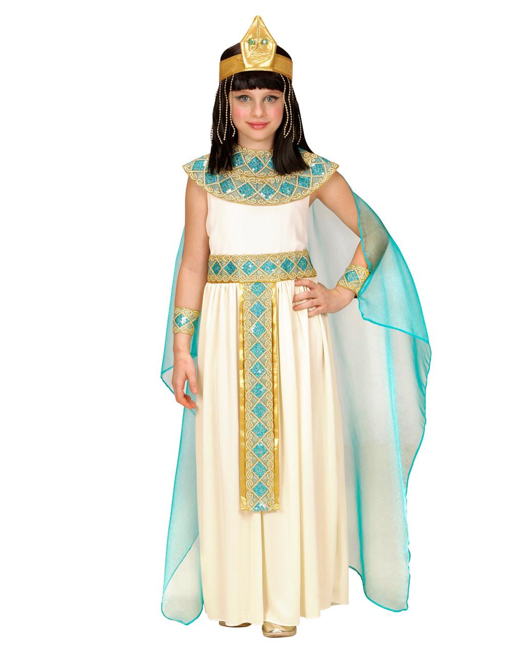4 Piece Cleopatra Child Costume Deluxe Order Horror Shop Com
