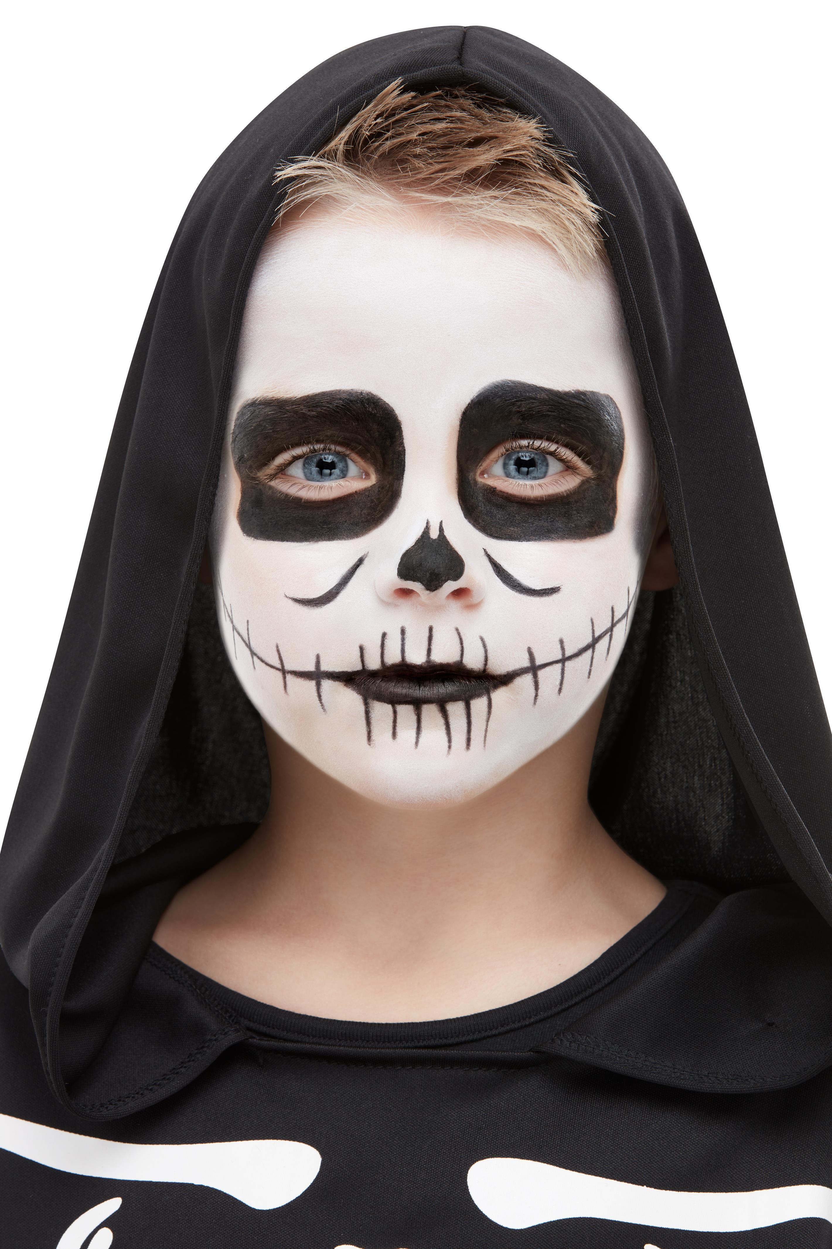 Skelett Aqua Fx Make Up Set Fur Kinder Bestellen Horror Shop Com