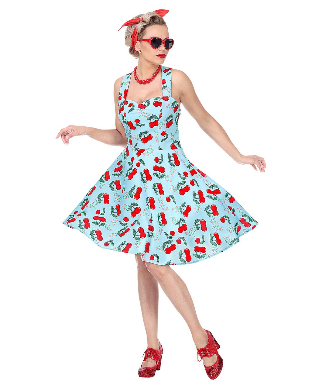 50er jahre rock'n roll kleid mit petticoat kaufen  horror