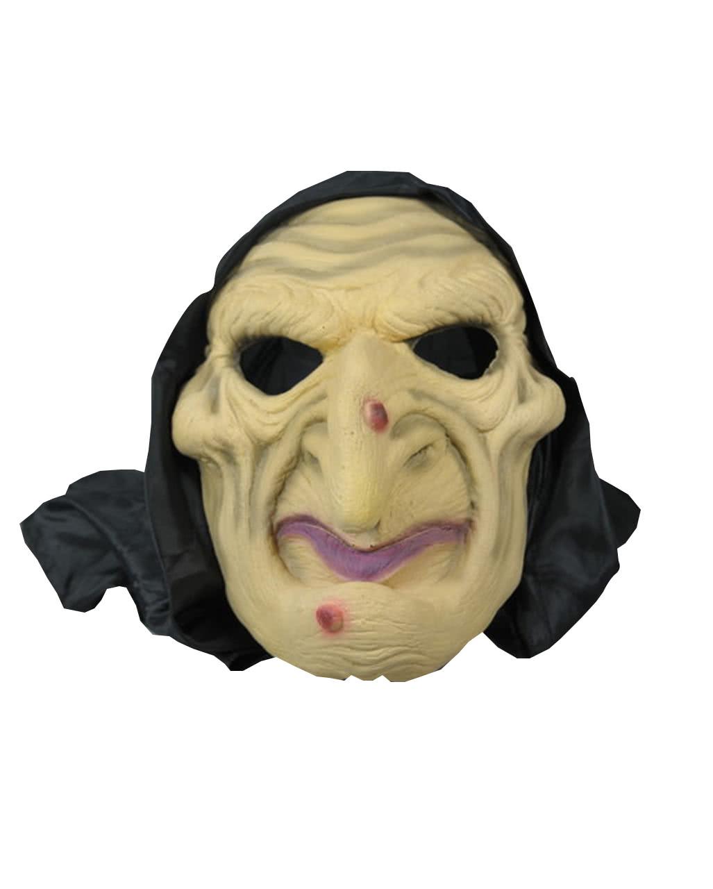 hexen maske mit kapuze halloween masken kaufen horror. Black Bedroom Furniture Sets. Home Design Ideas