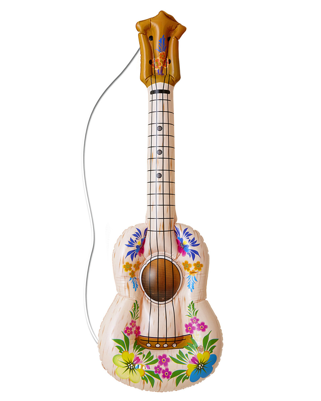 Hawaii Inflatable Guitar As A Hawaii Party Decoration