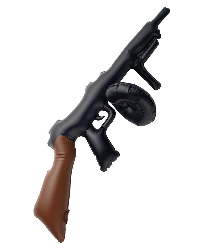 Tommy Gun Mobster Costume Toy Guns