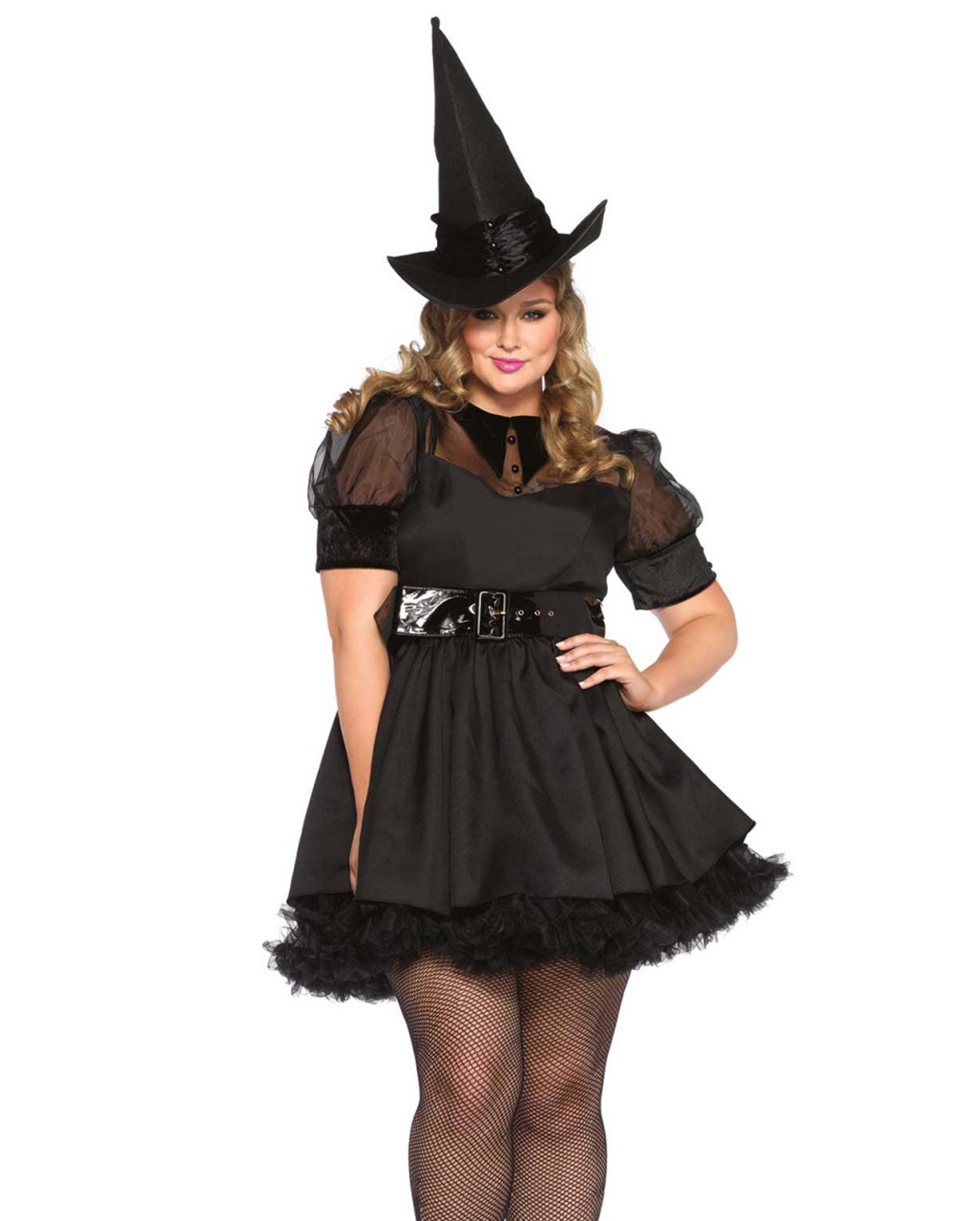 Charming Witch Costume For Ladies Plus Size Horror Shop Com