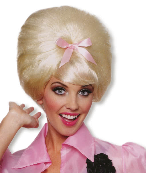 blond 50s beehive wig blond carnival wig 50s costume petticoat costume horror. Black Bedroom Furniture Sets. Home Design Ideas