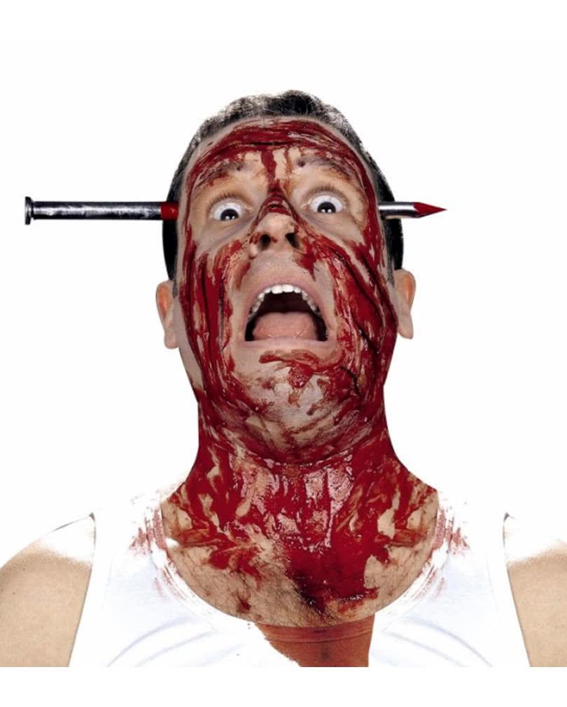 Blutiger Nagel Im Kopf Scherzartikel Fu00fcr Halloween | Horror-Shop.com