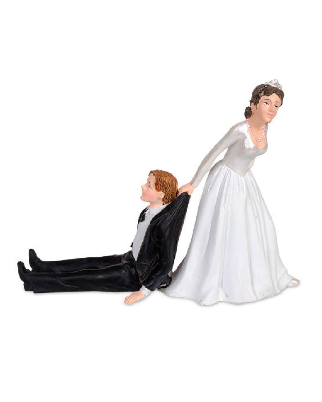 funny bridal couple for wedding cake to buy horror. Black Bedroom Furniture Sets. Home Design Ideas