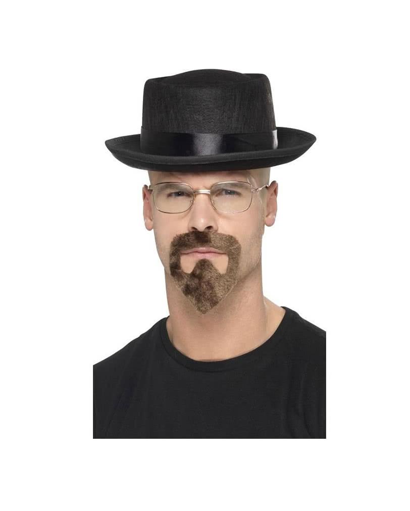 Full Head Walter White TV Show Latex Heisenberg with Glasses Mask