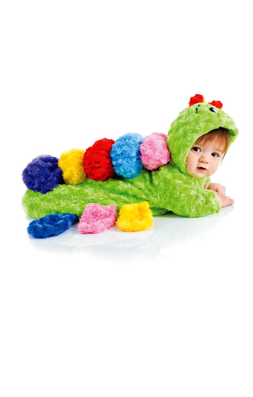 colorful caterpillar baby sack costume cuddly animal. Black Bedroom Furniture Sets. Home Design Ideas