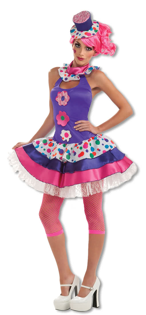 candy girl costume clown costume sweet costume horror. Black Bedroom Furniture Sets. Home Design Ideas