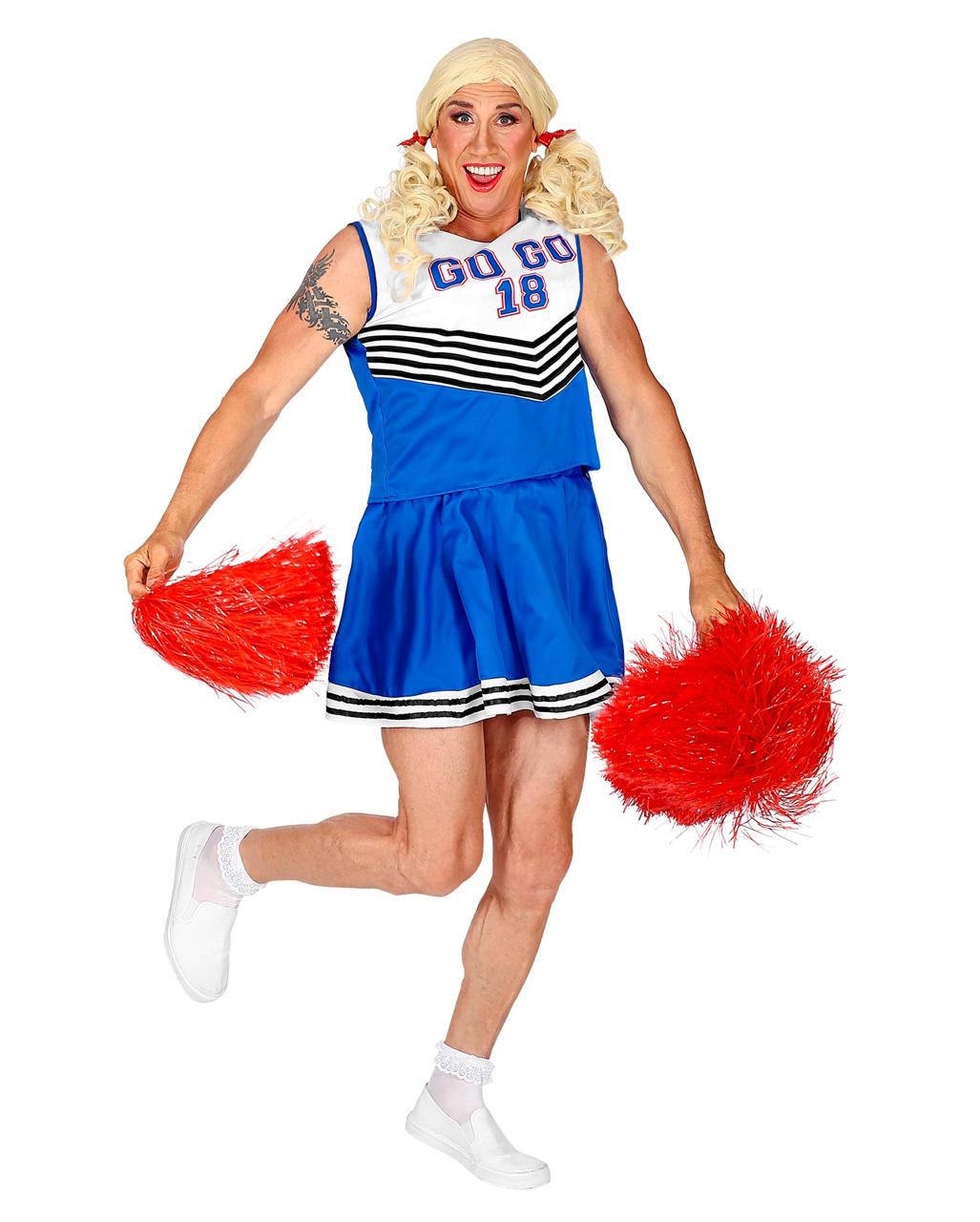 Cheerleader Men's Costume ? | horror-shop.com