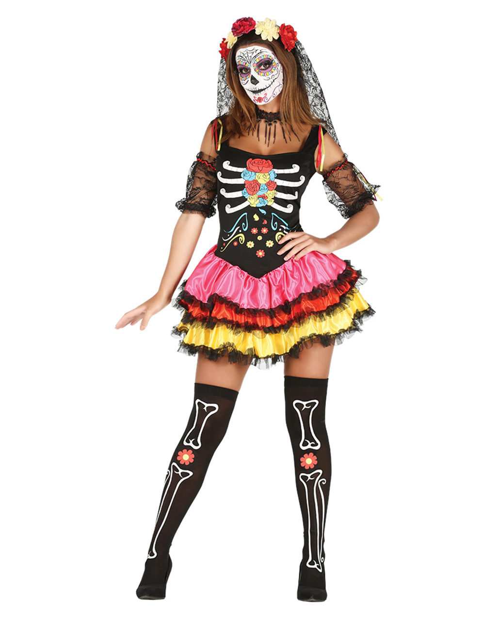 day of the dead dolls how to make