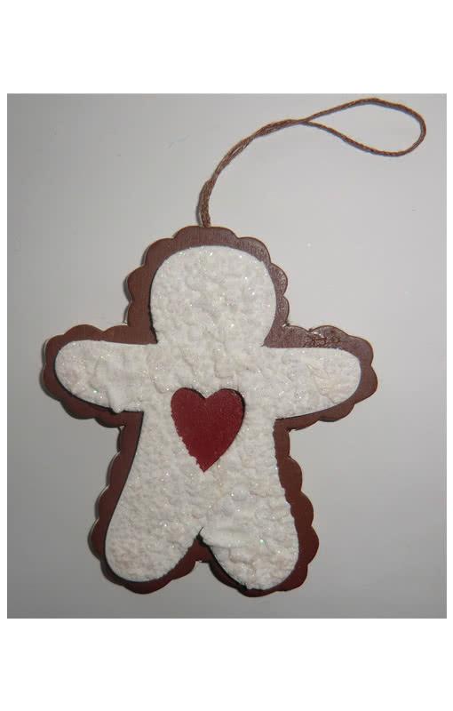 decorative cut out cookie gingerbread man cute. Black Bedroom Furniture Sets. Home Design Ideas