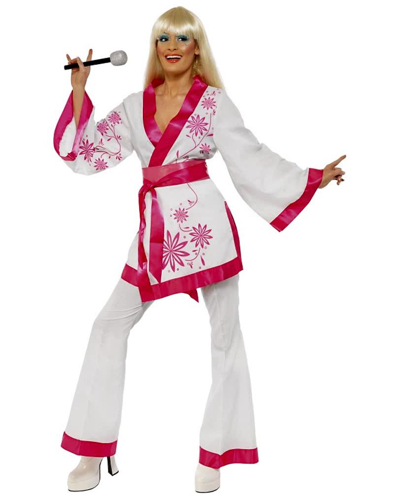 disco kimono kost m 70er jahre disco anzug horror. Black Bedroom Furniture Sets. Home Design Ideas