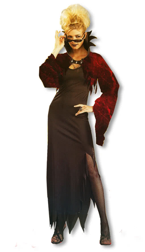 Vampire Countess Costume Woman costume ladies fancy dress ...