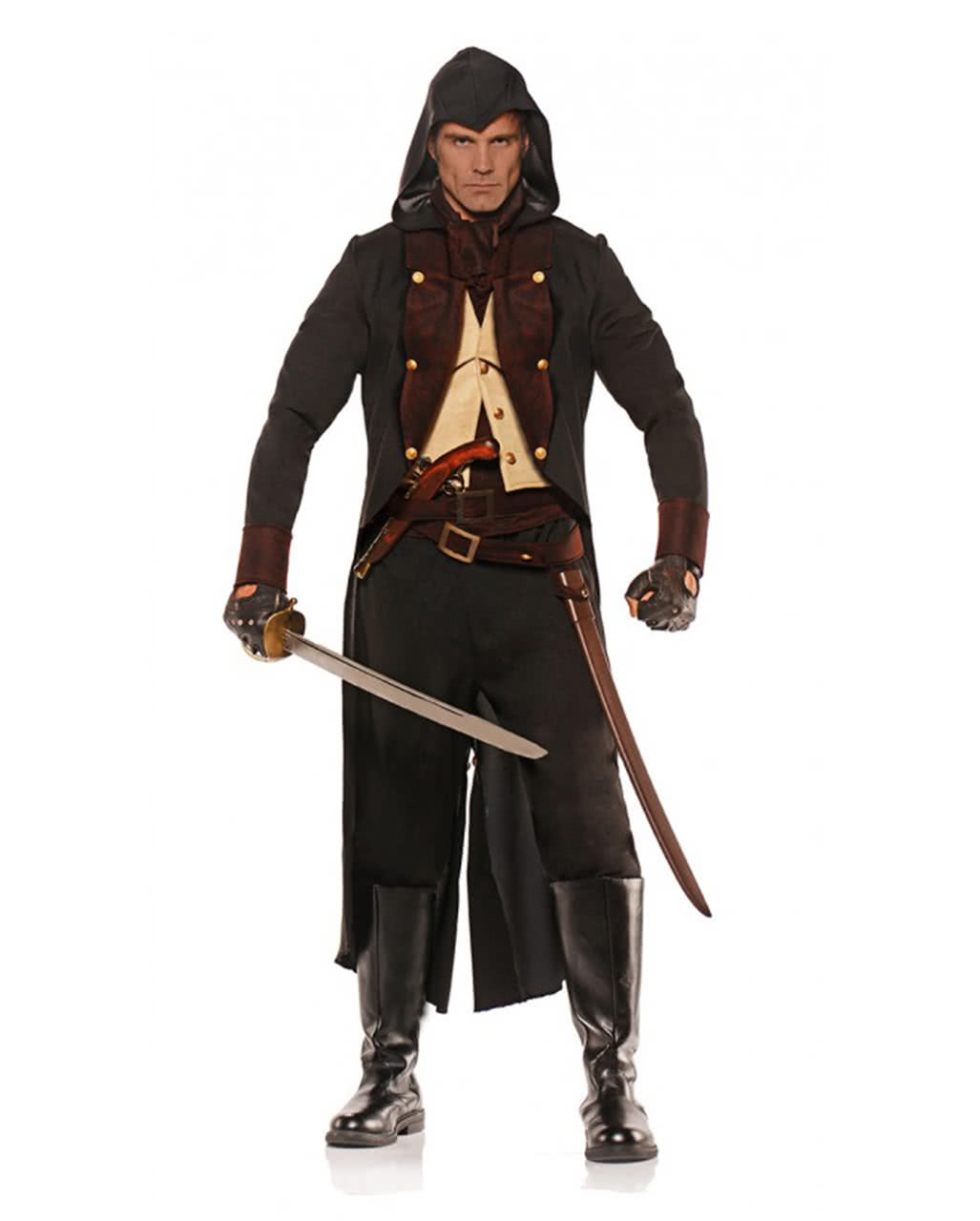 assassin costume for halloween larp events horror. Black Bedroom Furniture Sets. Home Design Ideas